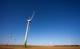 technologii zielony windpower Zdjęcia Royalty Free
