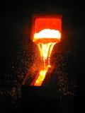 Technologisch Proces in Metallurgie stock afbeeldingen