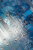Technologische achtergrond Royalty-vrije Stock Afbeelding