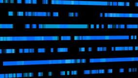 Technologische achtergrond met snelle motie van rechthoeken Abstracte blauwe achtergrond Royalty-vrije Stock Foto's