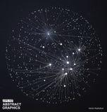 Technologische Betekenis Abstracte Illustratie stock illustratie