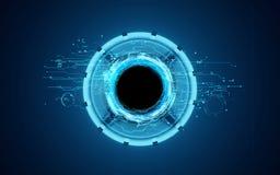 Technologische Plattform 3d Lizenzfreie Stockfotos
