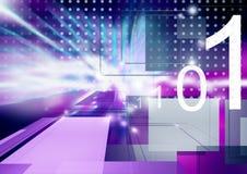 Technologische Welt Lizenzfreie Stockfotos