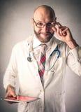 Technologischer Doktor lizenzfreies stockbild