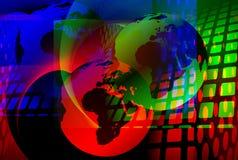 Technologischer Hintergrund Stockbild