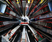 Technologischer industrieller abstrakter Hintergrund Stockbild