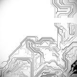 Technologischer Vektorhintergrund Lizenzfreie Stockfotografie