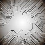 Technologischer Vektorhintergrund Stockfoto