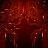 Technologischer Vektorhintergrund Lizenzfreies Stockfoto