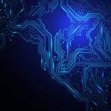 Technologischer Vektorhintergrund Lizenzfreie Stockbilder