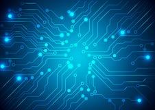 Technologischer Vektorhintergrund Lizenzfreies Stockbild