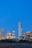 Technology. Refinery plant of petrochemical plant Stock Photos