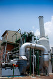Technology. Blower unit system in petrochemical Royalty Free Stock Image