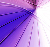 Technology Abstract. Striking technology abstract design in purple and white with powerful intersecting horizon connecting lines Stock Image