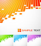 Technology abstract background. Set of technology abstract background Stock Photo