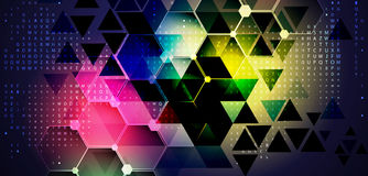 Technology abstract background collection for business solution ideas. Vector image royalty free illustration