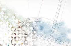 Technology abstract background collection for business solution ideas royalty free illustration