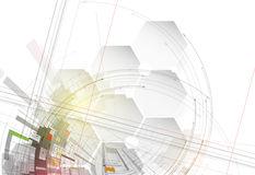 Technology abstract background collection for business solution ideas stock illustration
