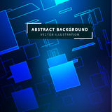 Technology abstract background. Futuristic technological style. Futuristic geometric background. Digital Planes in Perspective. Technology Business Background Vector Illustration