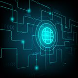 Technology abstract background. Technology abstract and background network Royalty Free Stock Image