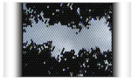 Technology abstract banner background. Black and white background of cubes Royalty Free Stock Photos