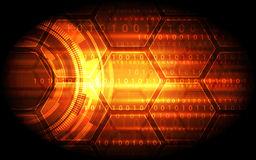 Technology abstract digital background, vector illustration Royalty Free Stock Photo