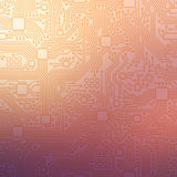 Technology abstract motherboard illustration background Stock Photography