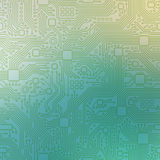 Technology abstract motherboard illustration background Stock Images