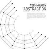 Technology abstraction illustration Royalty Free Stock Photography