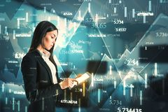 Technology and analysis concept stock photos