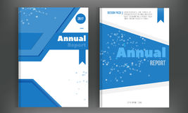 Technology Annual report with connections. Brochure design template vector, Leaflet cover presentation abstract Royalty Free Stock Photos
