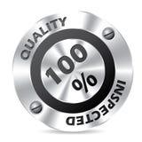 Technology award badge design Stock Photo