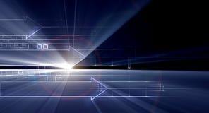 Technology background Stock Image