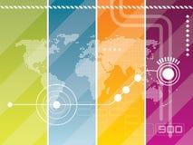 Technology background  Stock Photography