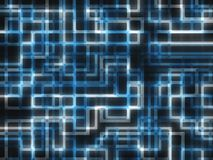 Technology Background. Abstract background. Computer generated pattern Royalty Free Stock Photography