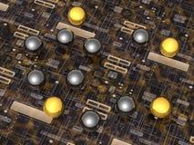 Technology - Background - 3D. Illustration about Communication - Background - 3D Royalty Free Stock Photography