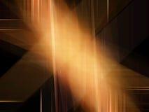 Technology background. Golden technology background vector illustration