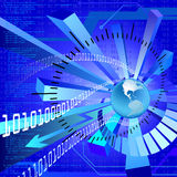 Technology background Stock Photo
