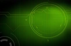 Technology background. Illustration of a technology background stock illustration