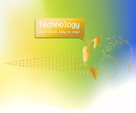 Technology Background Royalty Free Stock Photos