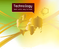 Technology Background Royalty Free Stock Photo