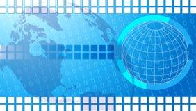 Technology background. New illustrator computer technology background Royalty Free Stock Photos