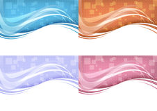 Technology background - abstract concept Stock Photo