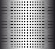 Technology background with circle perforated metal grill texture for internet sites, web user interfaces. Stock Photos