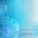 Technology background. Concept of industrial design Royalty Free Stock Images