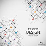 Technology background. EPS10 vector background. Technology background. Vector background. EPS10 Royalty Free Stock Photography