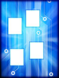 Technology Background Frame Royalty Free Stock Photos