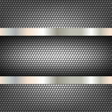 Technology background perforated circles Stock Image