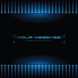 Technology background with space for text. Vector illustration Stock Photography