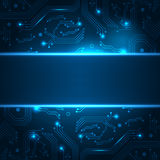 Technology background with space for your text. Royalty Free Stock Image